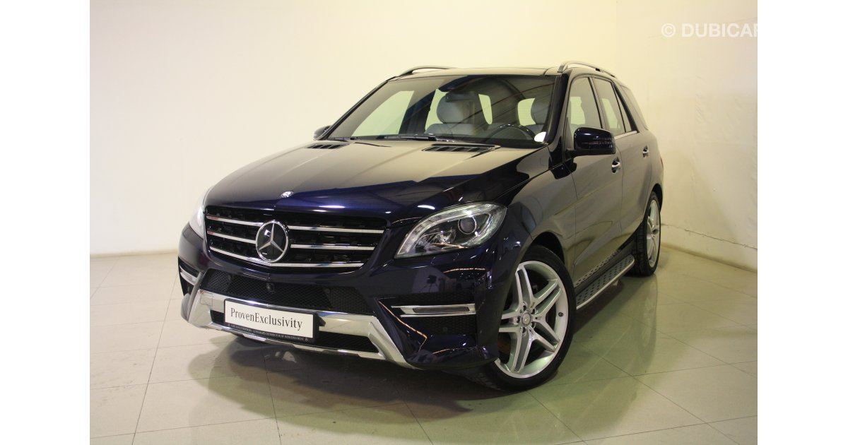 Mercedes benz ml 500 4matic for sale aed 259 500 blue 2015 for Mercedes benz dubai price