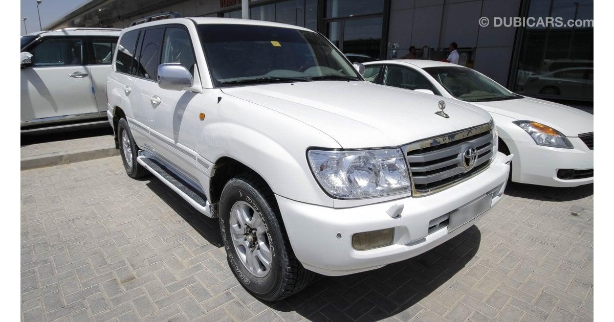 Toyota Land Cruiser Vx R V8 For Sale Aed 50 000 White 2005