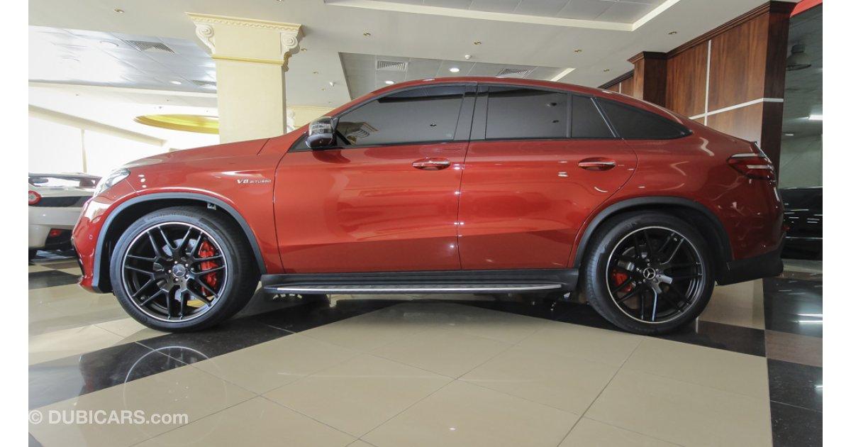 Mercedes benz gle 63 amg v8 biturbo coupe for sale aed for Mercedes benz v8 biturbo price