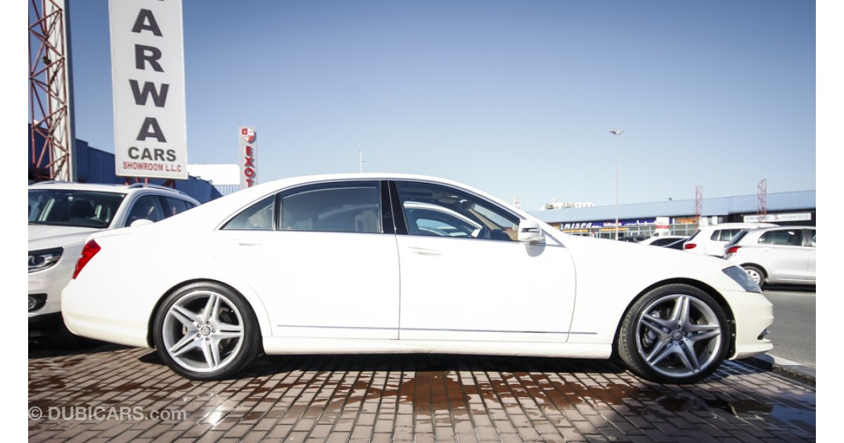 Mercedes benz s 500 for sale aed 185 000 white 2011 for Mercedes benz s 500 for sale used