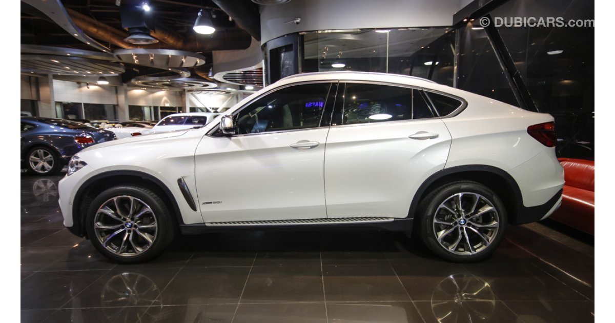 Bmw X6 Xdrive 50i For Sale Aed 325 000 White 2015