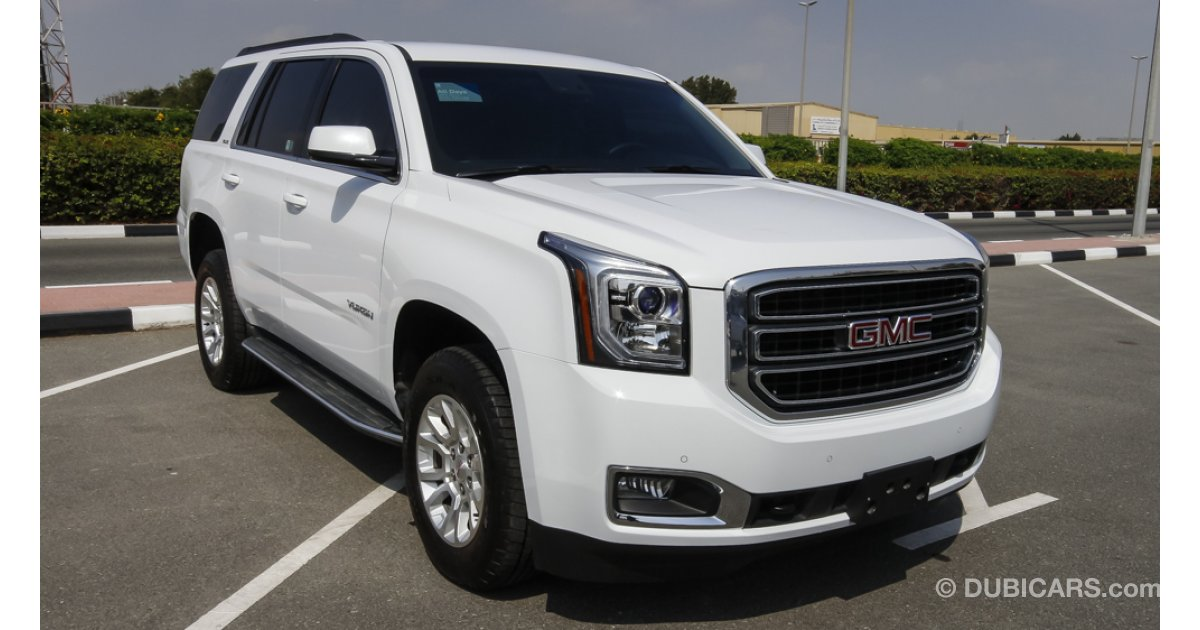 Gmc yukon for sale aed 140 000 white 2015 for Gmc motors near me
