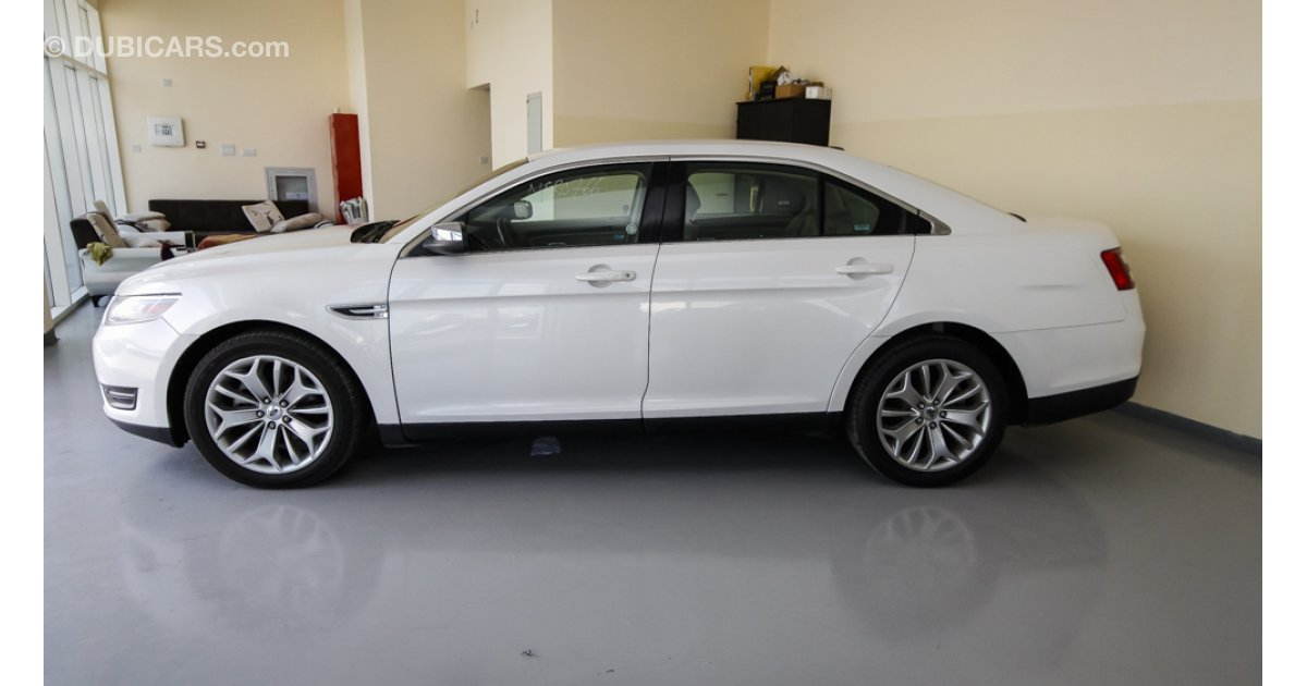 ford taurus limited for sale aed 38 000 white 2014. Black Bedroom Furniture Sets. Home Design Ideas