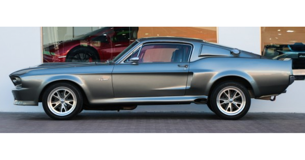 ford mustang fastback eleanor for sale  aed 299 000  grey