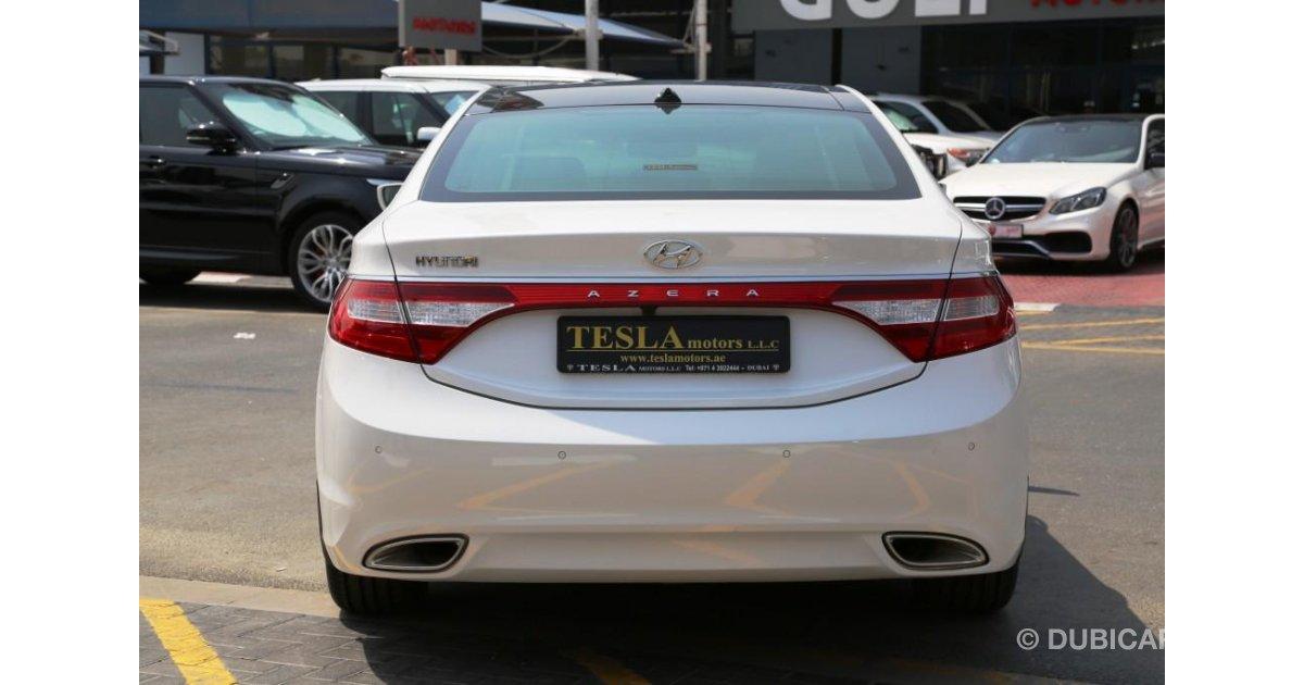 Hyundai Azera For Sale Aed 89 000 White 2014