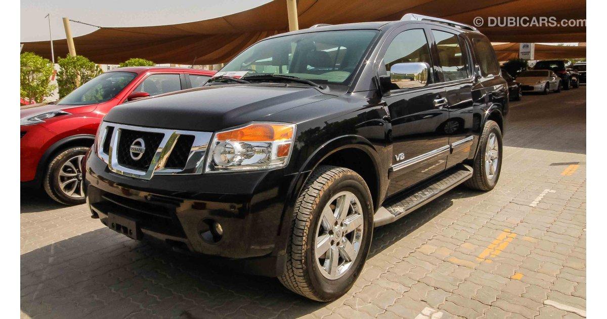 2014 Nissan Armada Platinum  Exterior and Interior