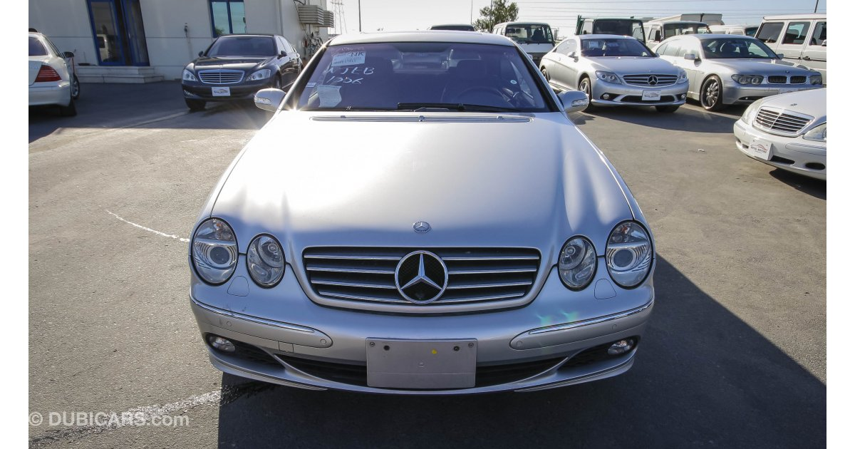 Mercedes benz cl 500 with cl 600 badge for sale aed for Mercedes benz royale 600 price