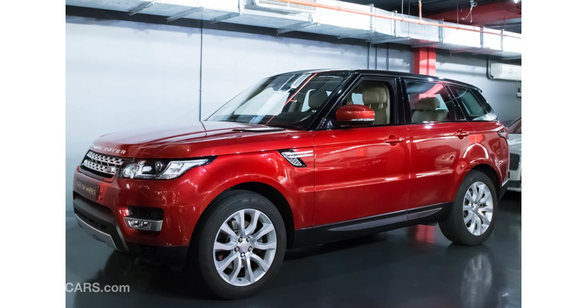 Land rover range rover sport hse for sale aed 229 000 red 2014