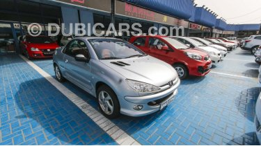 Peugeot 206 Cc For Sale Aed 29 500 Grey Silver 2005
