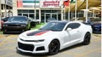 شيفروليه كامارو Camaro RS V6 2017/Original Airbags/ZL1 Kit/Leather Seats/Very Good Condition