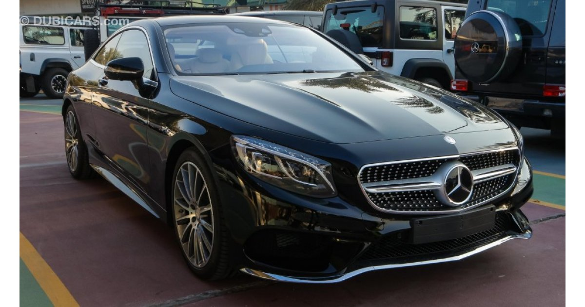 mercedes benz s 400 coupe for sale aed 495 000 black 2017. Black Bedroom Furniture Sets. Home Design Ideas