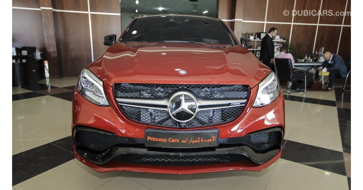 Mercedes Benz Gle 63 Amg V8 Biturbo Coupe For Sale Aed