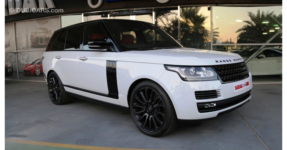 Range Rover Autobiography >> Land Rover Range Rover Autobiography Black Package for ...