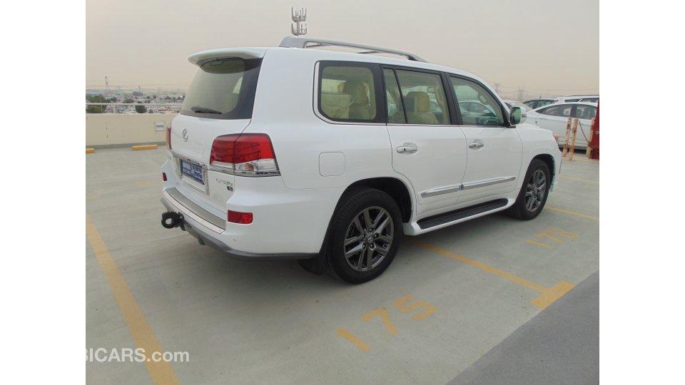 Lexus lx 570 for sale aed 228 000 white 2015 for Lexus motors for sale