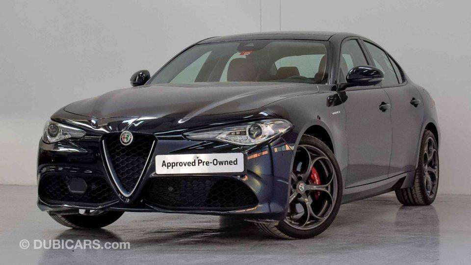 Alfa Romeo Giulia Veloce Q4 For Sale: AED 159,913. Black, 2019