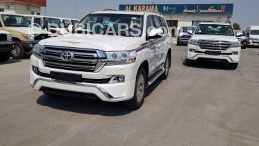 Toyota Land Cruiser ديزل GXR 4 5L V8 Diesel for sale  White