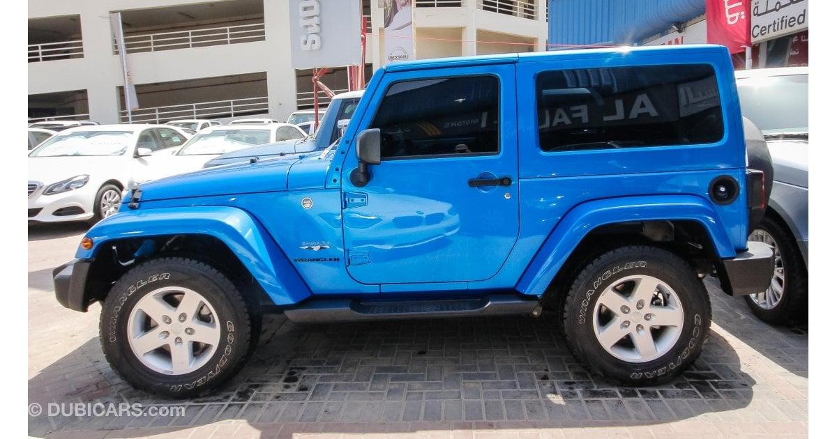 jeep wrangler for sale aed 99 000 blue 2016. Black Bedroom Furniture Sets. Home Design Ideas