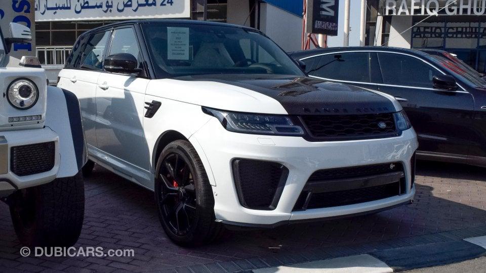 Range Rover Svr For Sale >> Land Rover Range Rover Sport SVR for sale: AED 689,000 ...