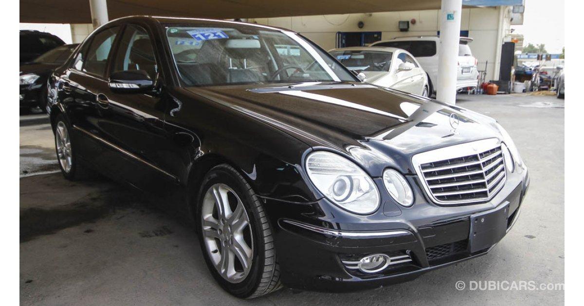 Mercedes benz e 350 for sale aed 43 000 black 2007 for 2007 mercedes benz e 350
