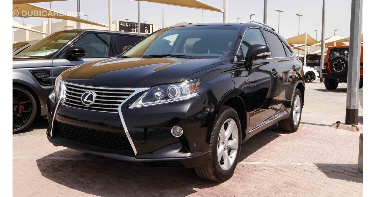 lexus rx 350 for sale aed 88 000 black 2015. Black Bedroom Furniture Sets. Home Design Ideas