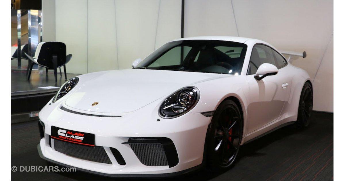 Porsche 911 Gt3 For Sale Aed 659 000 White 2018
