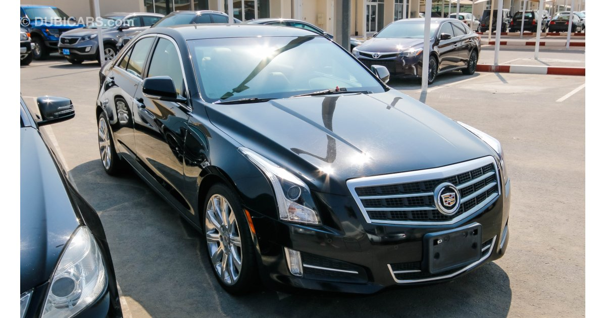 Cadillac ATS for sale: AED 67,000. Black, 2014