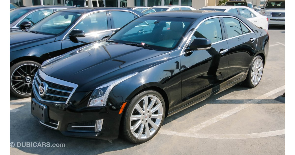 cadillac ats for sale aed 67 000 black 2014. Black Bedroom Furniture Sets. Home Design Ideas