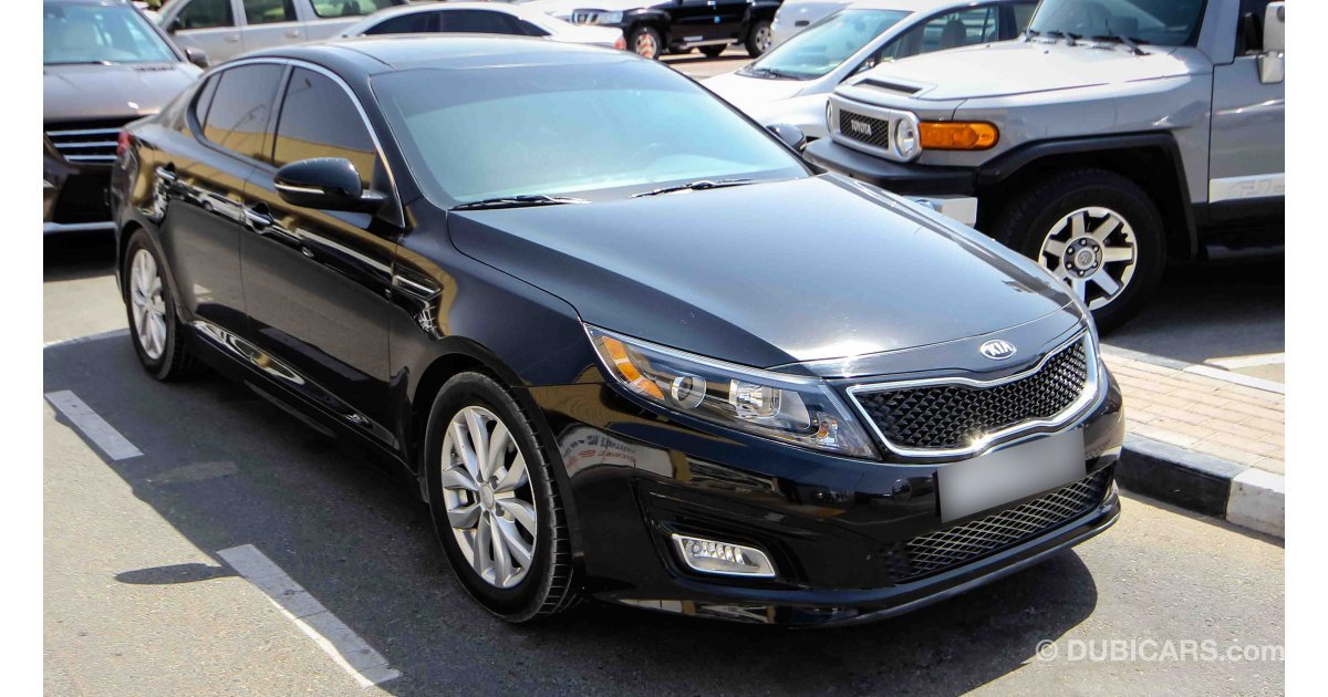 Kia Optima Ex Gdi For Sale Aed 35 500 Black 2014