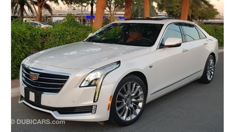 cadillac ct6 cadillac ct6 original paint perfect condition for sale aed 165 000 white 2017. Black Bedroom Furniture Sets. Home Design Ideas