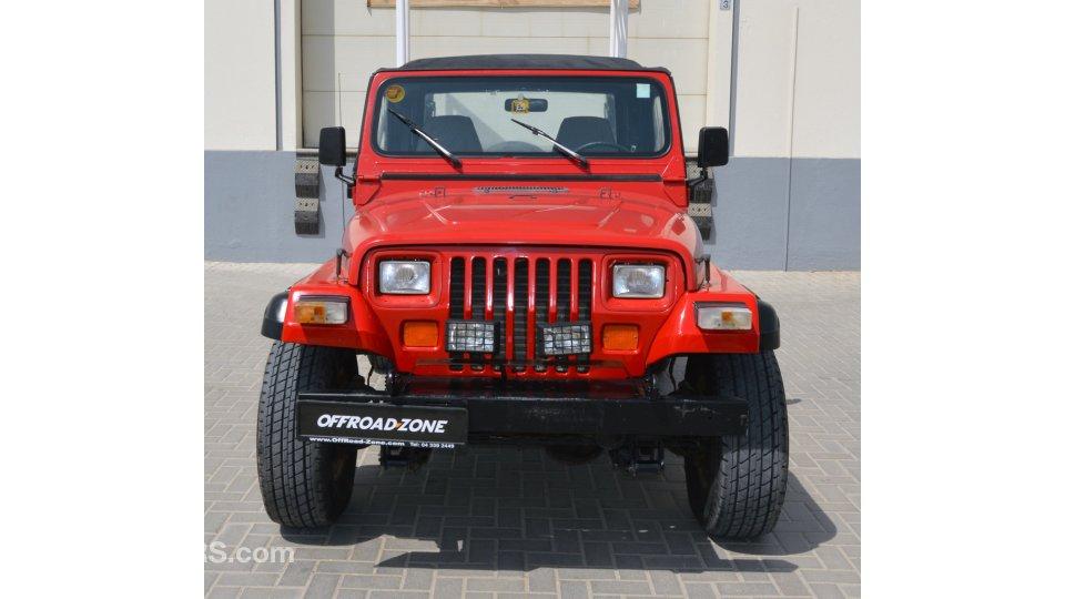 jeep wrangler 4 0l manual transmission for sale aed 20 000 red 1993. Black Bedroom Furniture Sets. Home Design Ideas