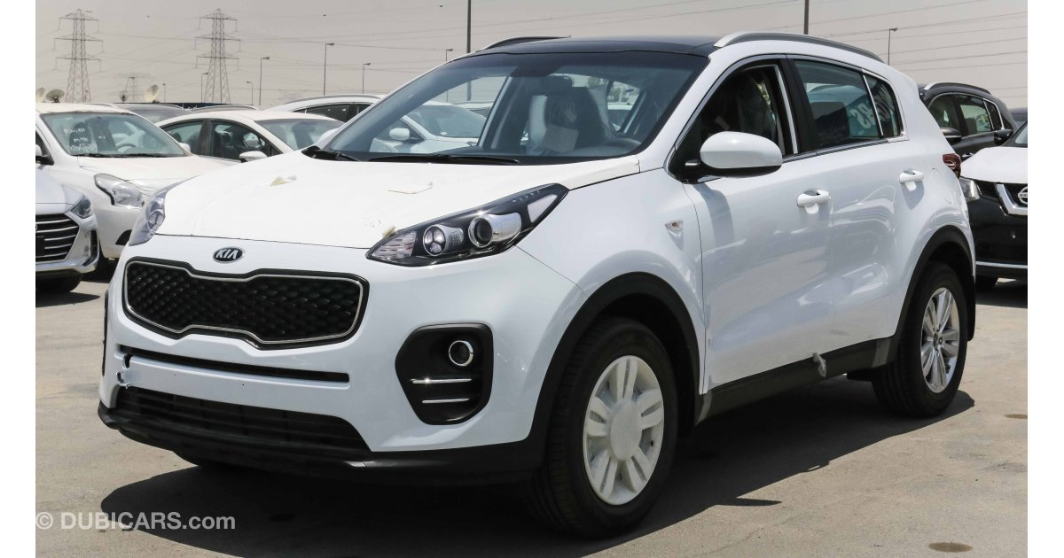 Kia Sportage For Sale: AED 63,000. White, 2018
