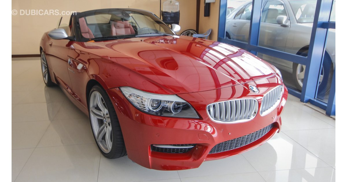 bmw z4 m s drive 35 is for sale aed 189 000 red 2013. Black Bedroom Furniture Sets. Home Design Ideas