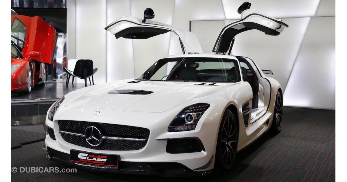 Mercedes benz sls amg black edition for sale white 2014 for Mercedes benz black edition