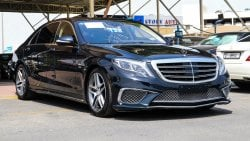 Mercedes-Benz S 550 Large Edition 1 With S 65 AMG body kit