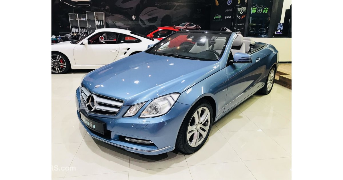 Mercedes benz e 250 cabriolet 2012 gcc one year for 2012 mercedes benz e350 convertible