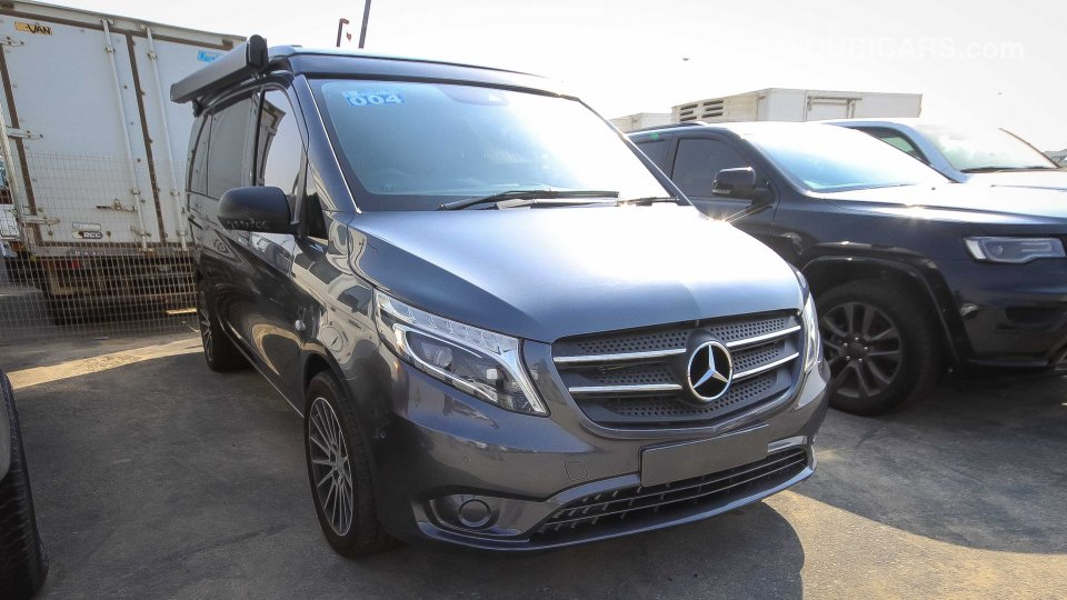 mercedes benz viano marco polo for sale grey silver 2017. Black Bedroom Furniture Sets. Home Design Ideas