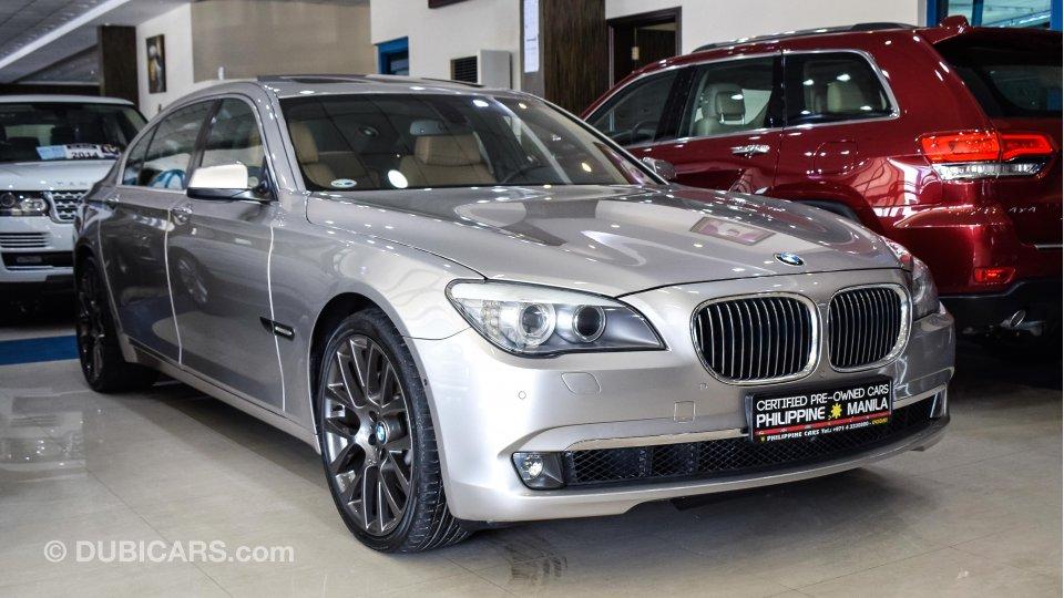 Bmw 750 Li For Sale Aed 89 500 Grey Silver 2012
