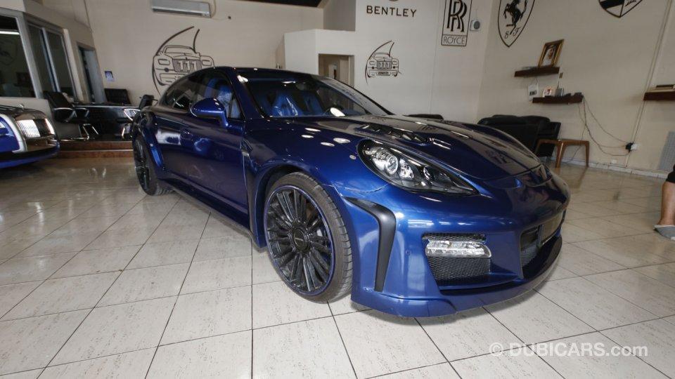 Porsche Panamera Mansory Body Kit For Sale Blue 2012