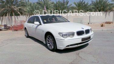 BMW Li Series Full Option No For Sale AED White - 745 bmw li