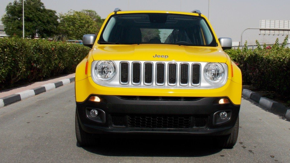 jeep renegade brand new 2016 limited 4x4 gcc full option 3 yrs 60000km wnty at the dealer dss. Black Bedroom Furniture Sets. Home Design Ideas