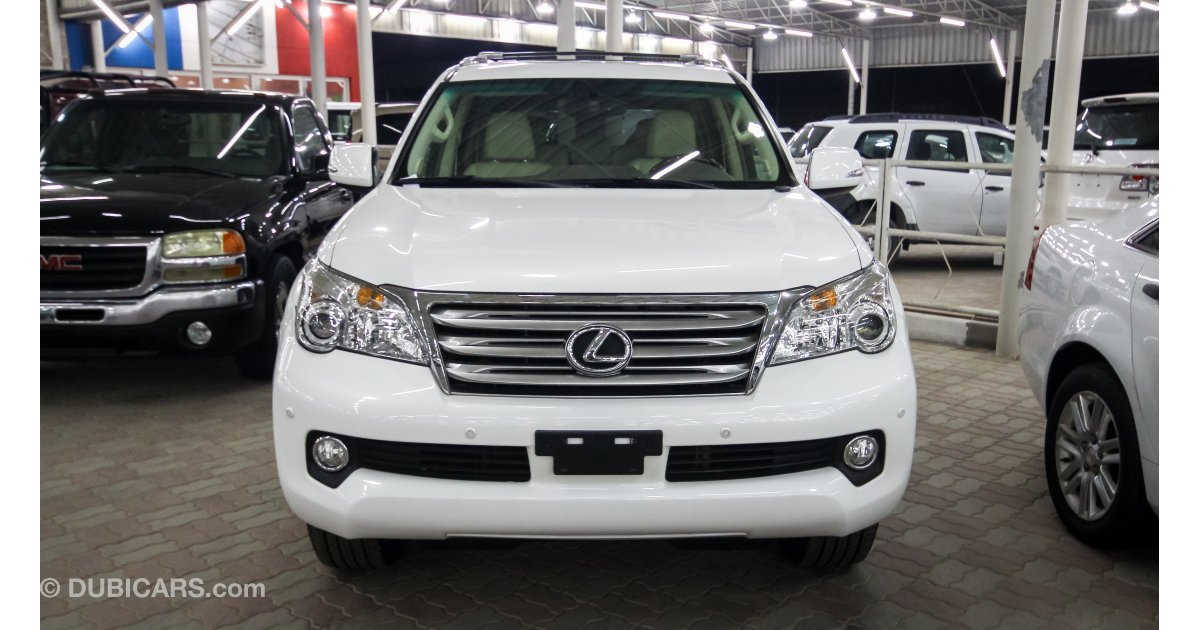 lexus gx 460 for sale aed 105 000 white 2013. Black Bedroom Furniture Sets. Home Design Ideas