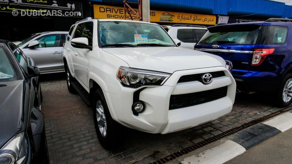 Toyota Four Runner For Sale >> Toyota 4 Runner Sr5 For Sale Aed 139 000 White 2016