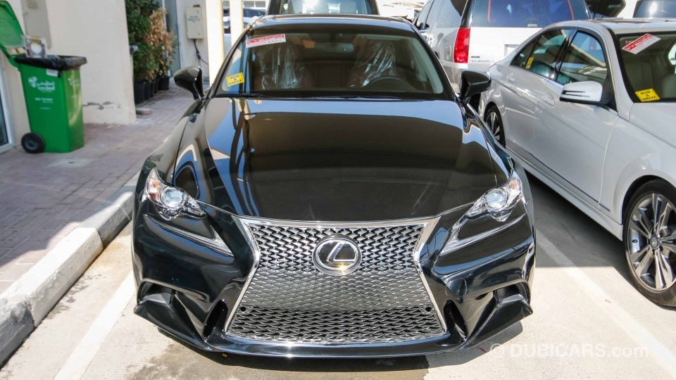 Lexus Is 250 F Sport For Sale Aed 80 000 Black 2014