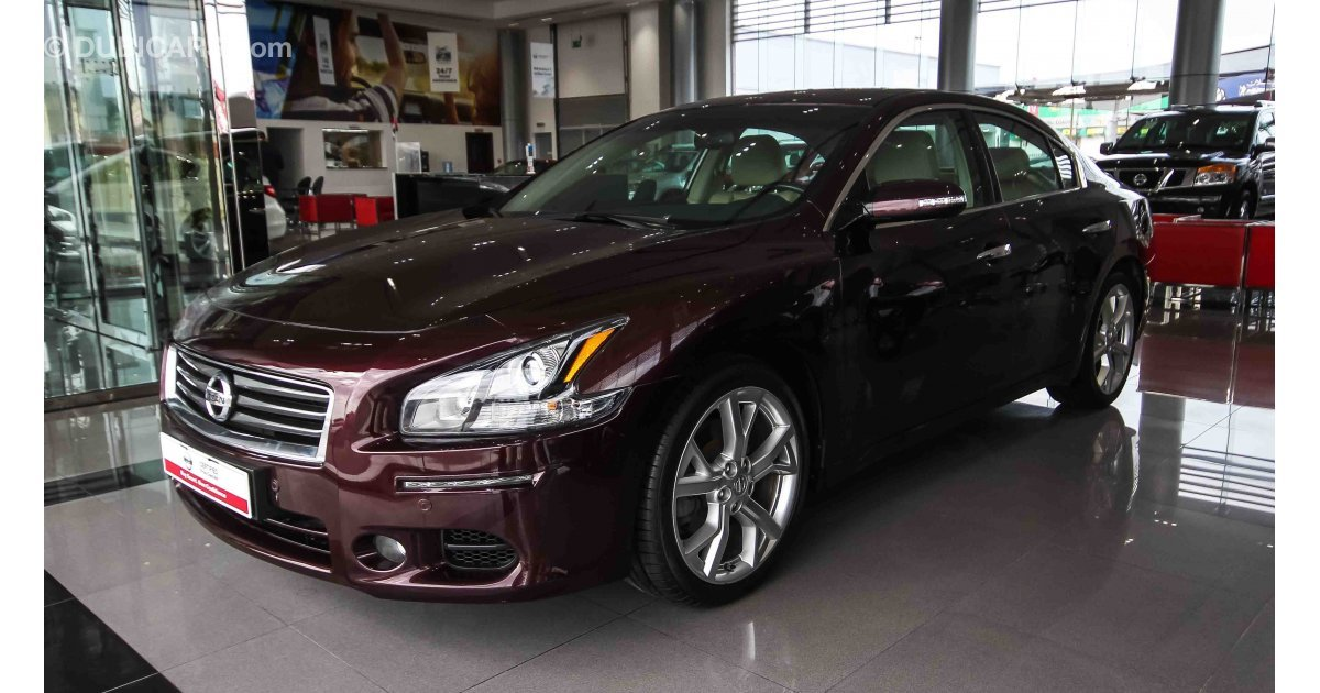 New Nissan Maxima >> Nissan Maxima for sale: AED 67,900. Burgundy, 2014