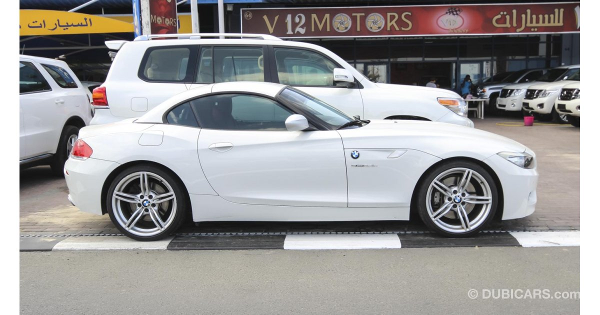 Bmw Z4 For Sale Aed 120 000 White 2012