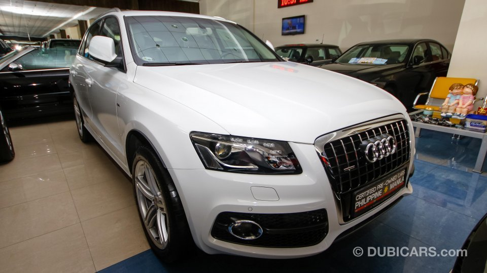 audi q5 3 2 quattro for sale aed 109 500 white 2013. Black Bedroom Furniture Sets. Home Design Ideas