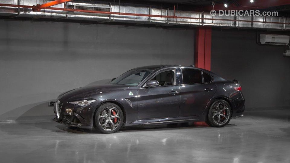Alfa Romeo Giulia Quadrifoglio For Sale: AED 225,000