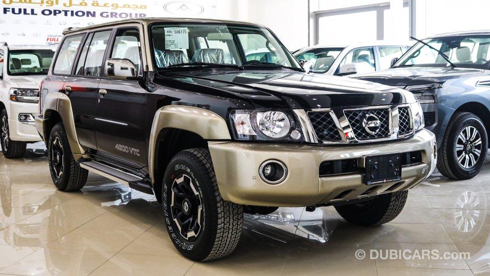 nissan patrol super safari for sale. black, 2021