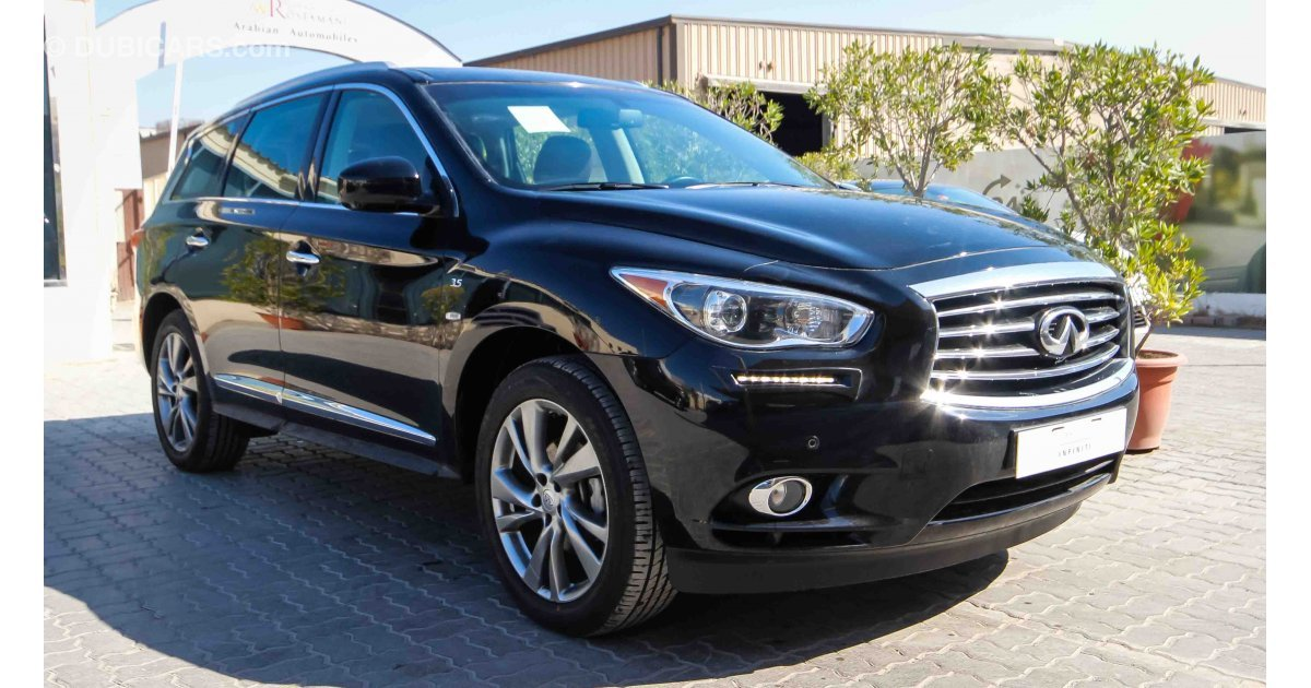 Infiniti Qx60 3 5 For Sale Aed 125 900 Black 2015