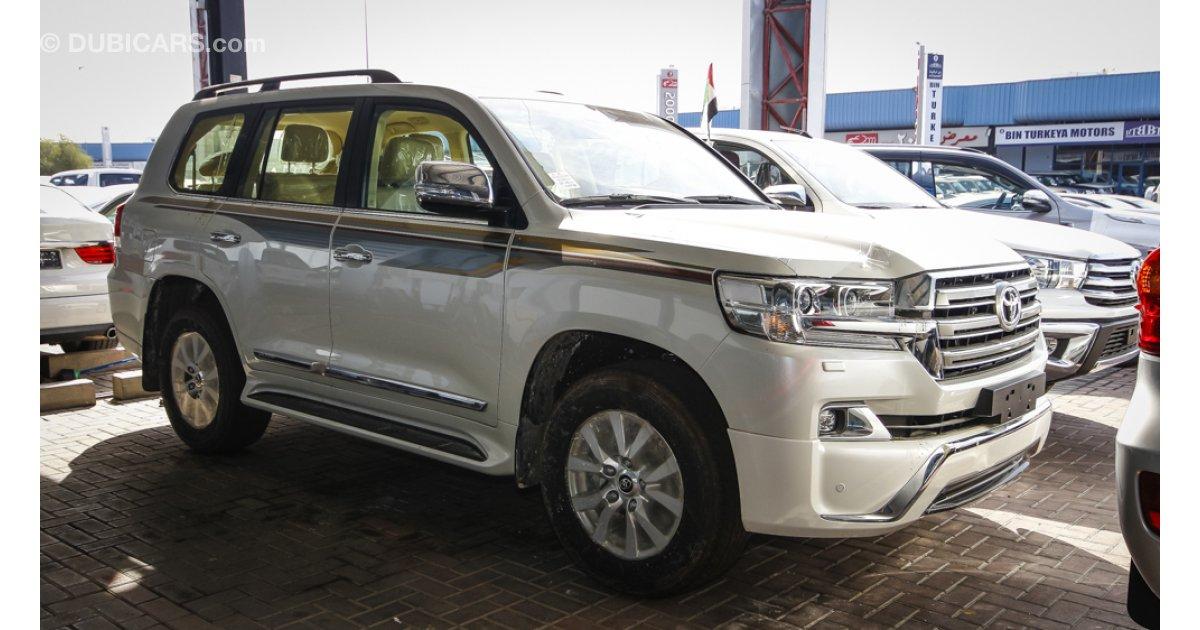 Toyota Land Cruiser Gxr V6 For Sale Aed 195 000 White 2016